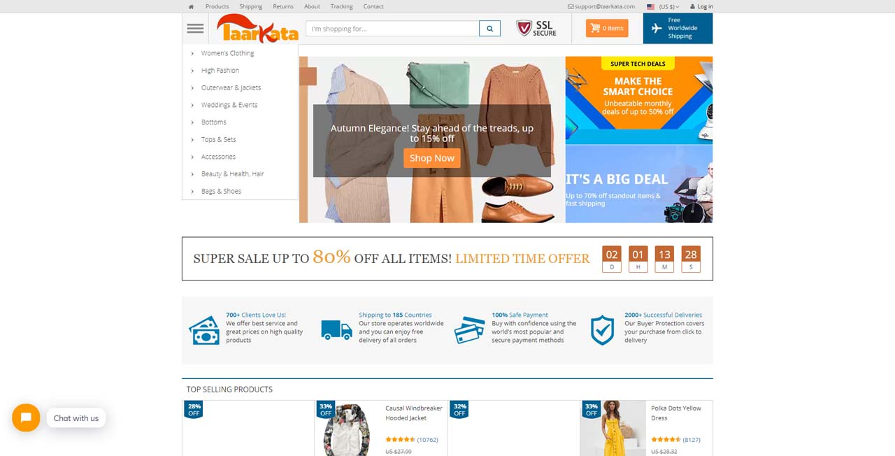 Taarkata - Online Shopping Mall