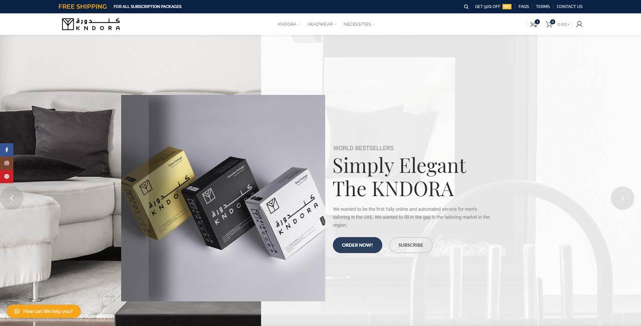 Kndora - Online Shopping