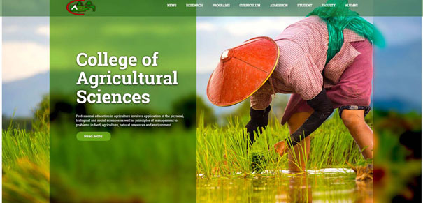 College of Agricultural Sciences