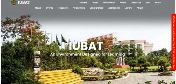 IUBAT -- International University of Business Agriculture and Technology